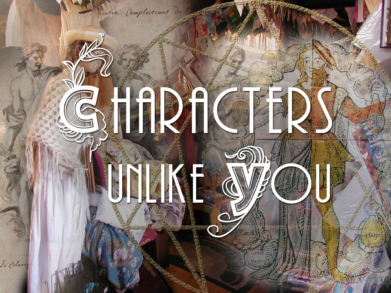 The Characters Unlike You writing workshop