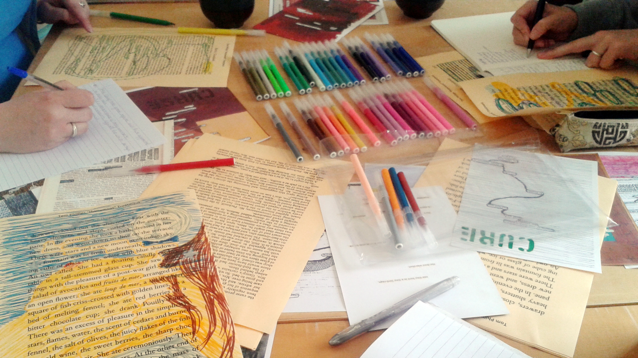 Creativity writing workshop