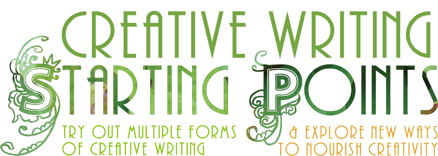 Starting Points creative writing course starting Feb 2020