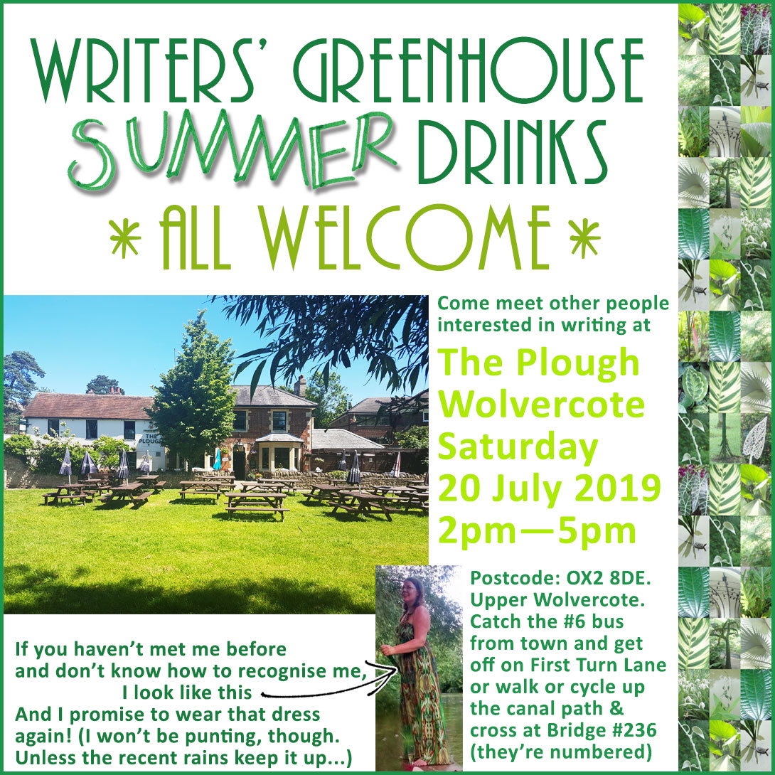 Summer Drinks, All Welcome