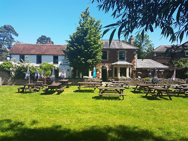 The Plough pub in Wolvercote